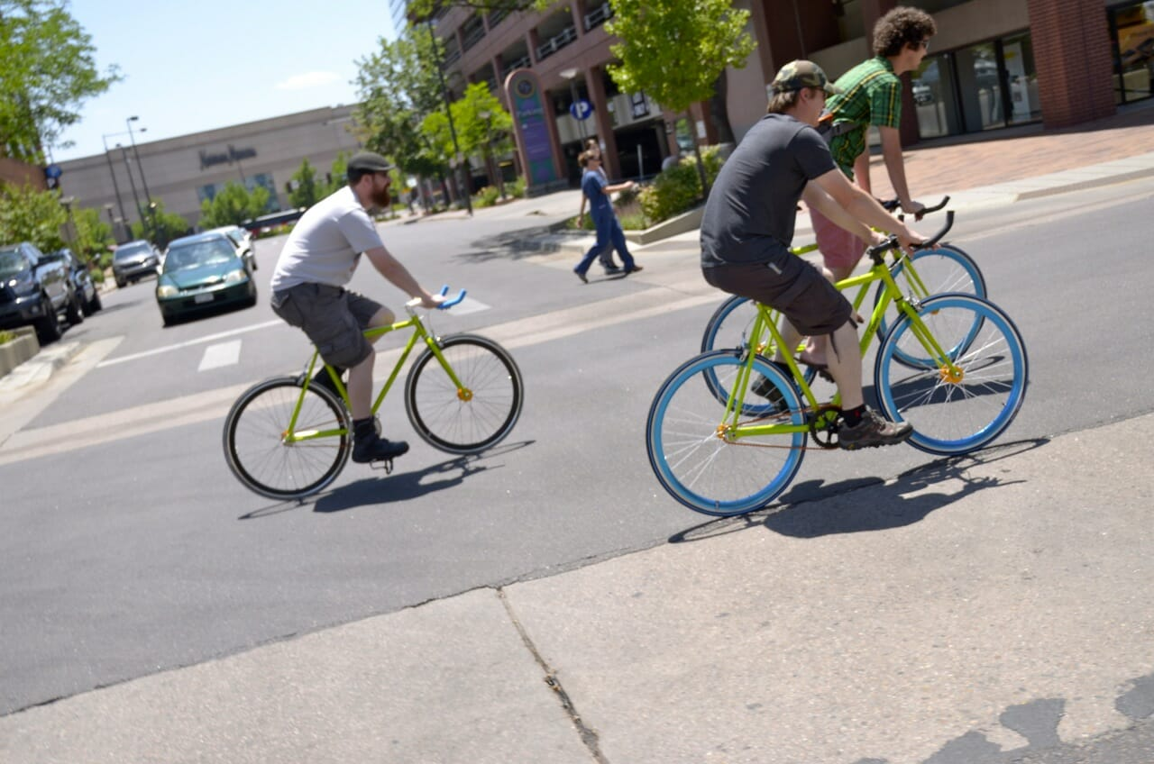 Bikes for employees at Name.com