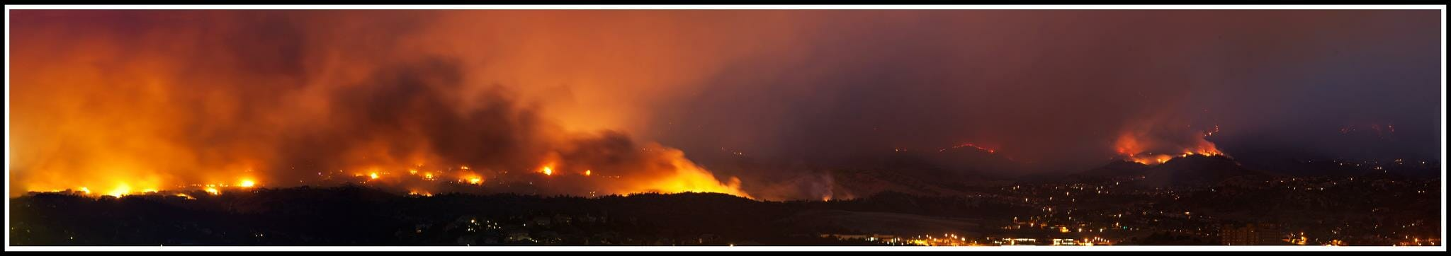Waldo Canyon Fire in Colorado Springs