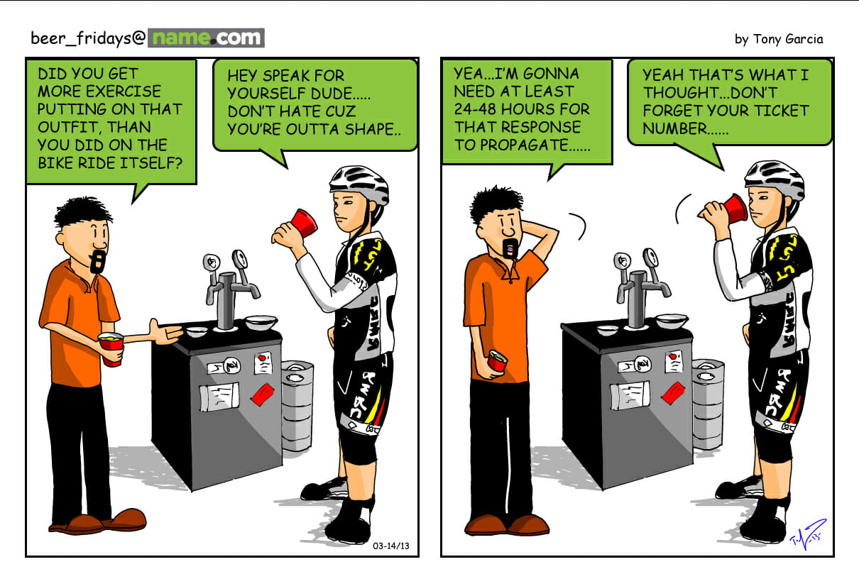 beer friday's comic