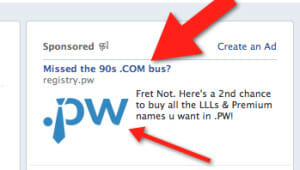 pw facebook ad