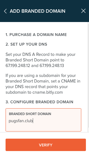 validate bitly domain