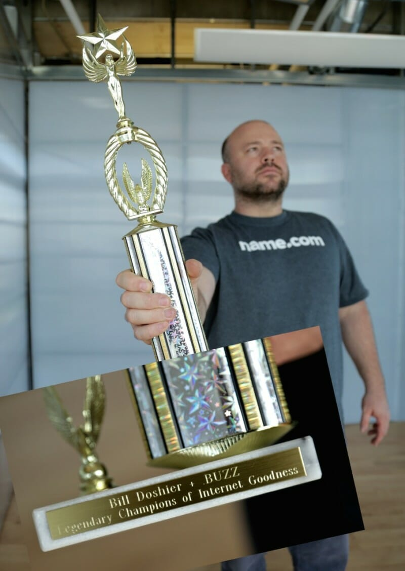Domain name .BUZZ wins big prize.