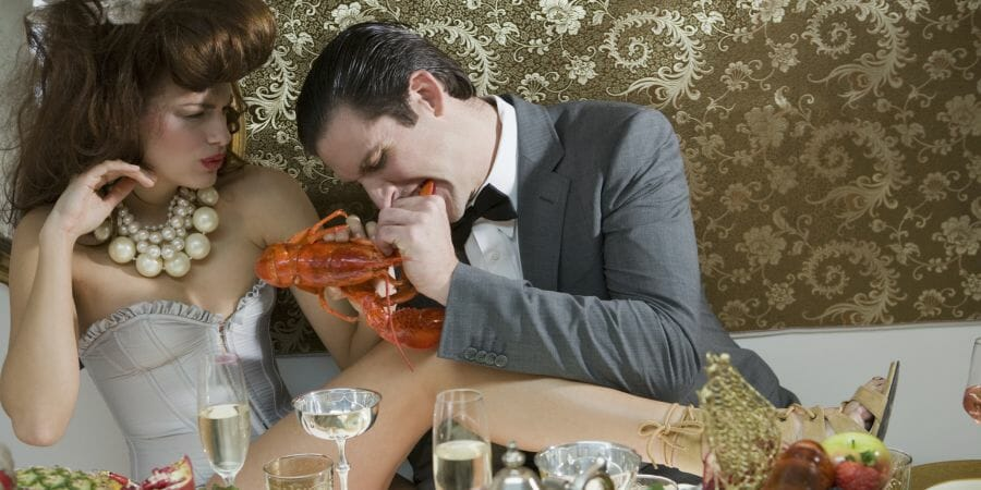 lobster couple