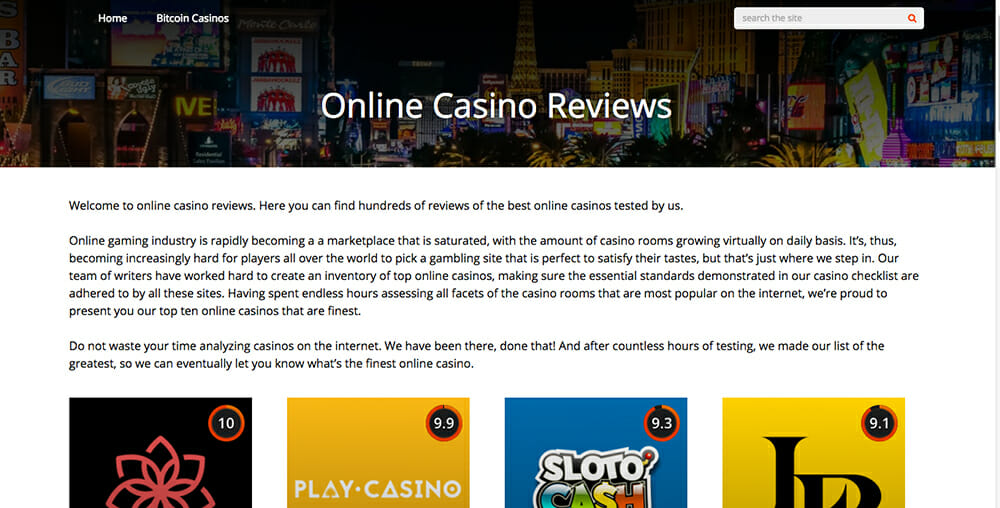 onlinecasino.reviews
