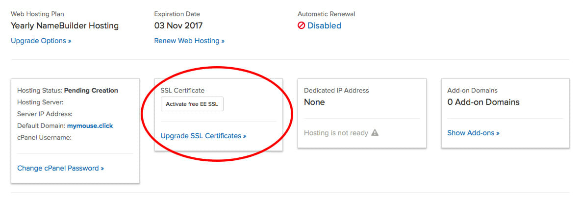 Have Hosting With Name Heres How To Get A Free Ssl Certificate