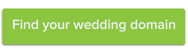 Find your wedding domain