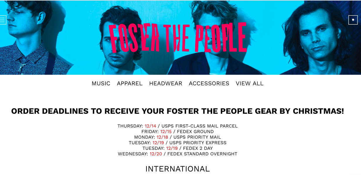 fosterthepeople.store