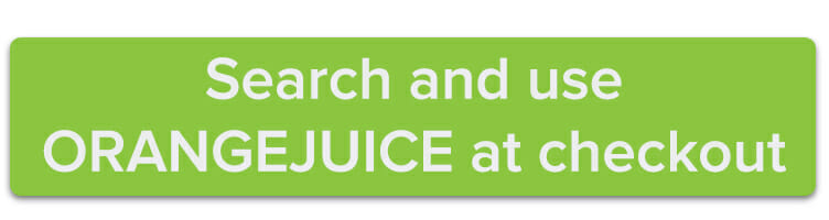 Search and use ORANGEJUICE at checkout