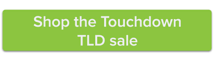 Shop the Touchdown TLD sale