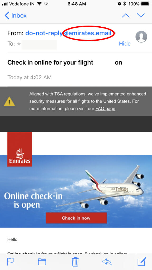 emirates.email screenshot