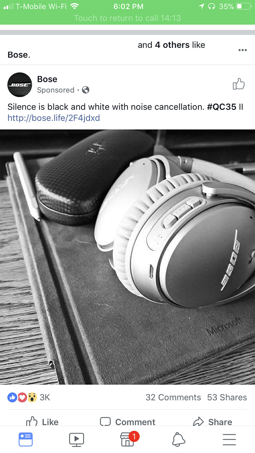 bose.life screenshot