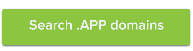 Search .APP domains