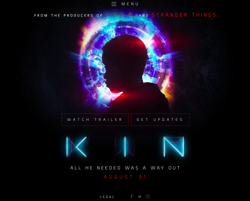 kin movie website